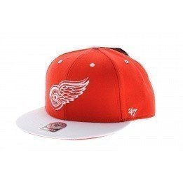 Casquette Detroit Red Wings Rouge & blanc