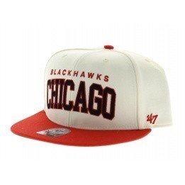 Blockshed Chicago Blackhawks beige rouge