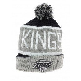 Bonnet long à pompon Los Angeles kings vintage