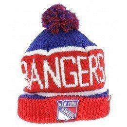New York Rangers Long Pompom Cap