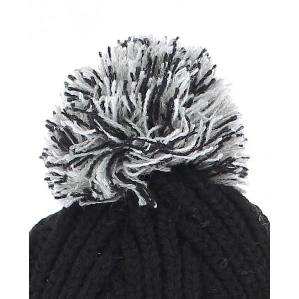 Long black cap with pompom Los Angeles kings Vintage