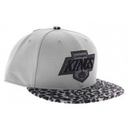 Los Angeles Kings Vintage leopard snapback cap