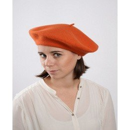 French beret - Orange beret