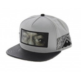 C&S Snapback Cap - One Love Grey