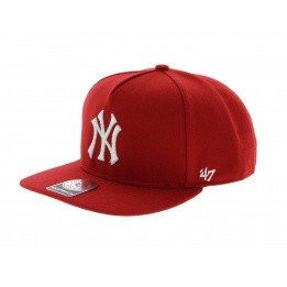 NY Yankees red cap - 47 Brand