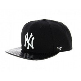 Cap NY visor imitation leather visor - 47 Brand