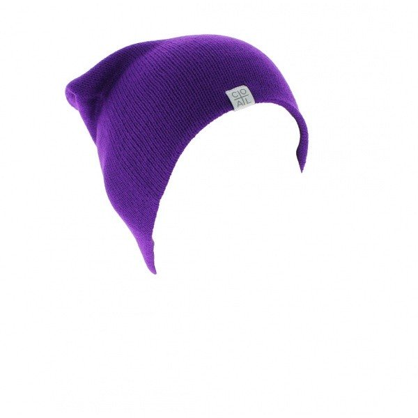 The Flt purple hat - Coal