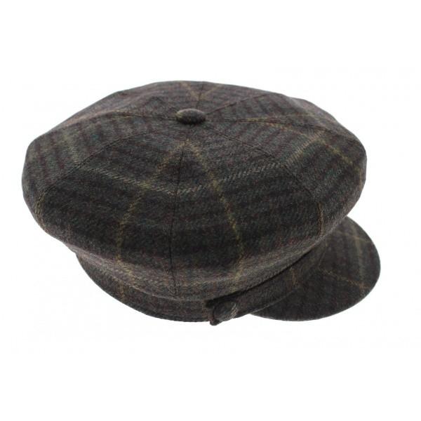 Stephanoise cap - Brown wool