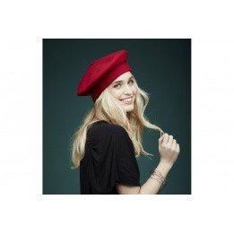 Beret Parisienne Red- Laulhère