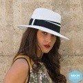 Traveller Anja Monochrome Hat Black & White