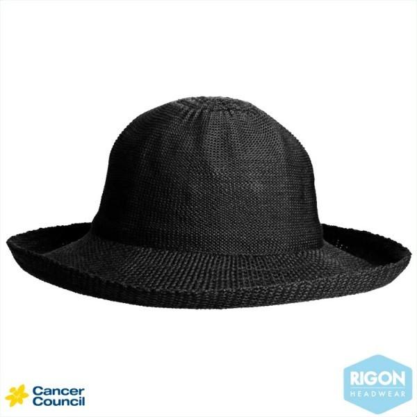 Chapeau Breton Noir Polyester