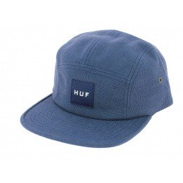 Blue Volley Tonal Strapback Cap - HUF