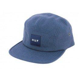Casquette Strapback Tonal Volley Bleu - HUF