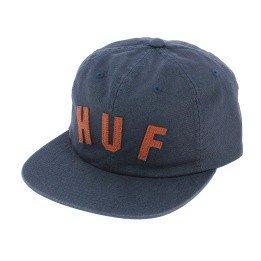 Blue Cotton Strapback Shortstop Cap - HUF