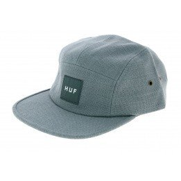 Strapback Cap Tonal Volley Linen Blue/Grey - HUF