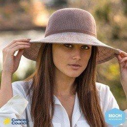 Capeline wash n' wear Polyester Mocha - Rigon headwear