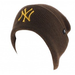 Brown Cap NY Yankees Acrylic - 47 Brand