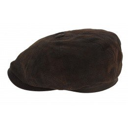 Casquette hatteras cuir stetson