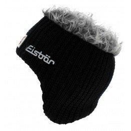 Earmuffs Cap Black Wool Gisbert - Eisbär