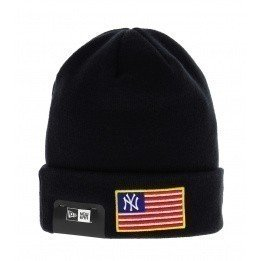 MLB Flag Flag Knit Neyya New Era MLB Flag New Era Navy Blue