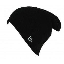 Bonnet Long Mixte Essential Knit Acrylique Noir - New Era