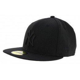 Snapback Black on Black NY Yankees Black Cap - New Era