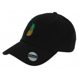 Casquette Baseball Strapback Pineapple Coton
