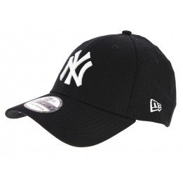 Fitted 39Thirty League Black Cotton Cap - New Era