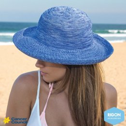 Chapeau Style Breton Classic Bleu