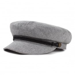 Grey Marin Fiddler Cap - Brixton