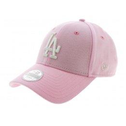 Casquette Strapback LA Dodgers Jersey Coton Rose - New Era