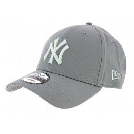 Véritable Casquette Baseball New-York Grise- New Era