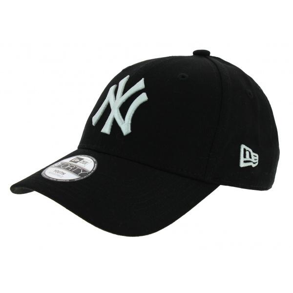Véritable Casquette Enfant Baseball New-York Noir - New Era