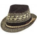 Trilby Venture Straw Natural Hat - Barts