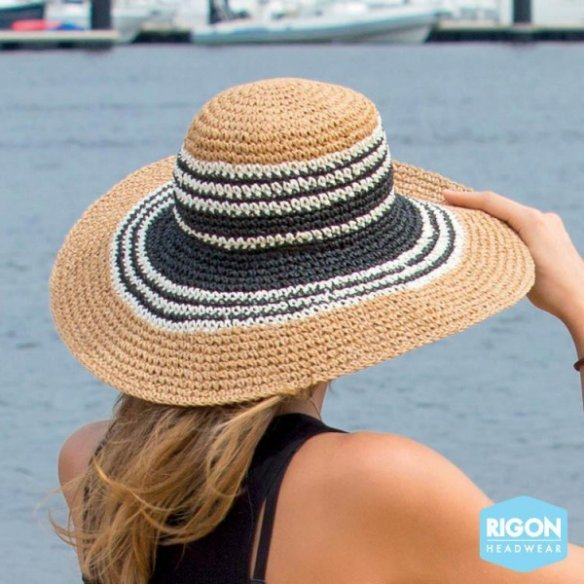 Betina Bicolor Natural Fiber Hoodie - Rigon Headwear