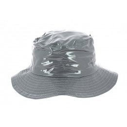 Chapeau de pluie argent
