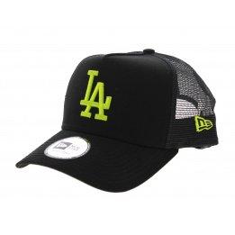 Casquette Los Angeles Dodgers Essential Noir/Fluo- New Era